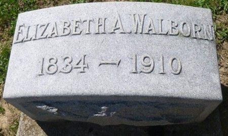WALBORN, ELIZABETH ANN - Champaign County, Ohio | ELIZABETH ANN WALBORN - Ohio Gravestone Photos