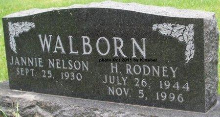 WALBORN, HERMAN RODNEY - Champaign County, Ohio | HERMAN RODNEY WALBORN - Ohio Gravestone Photos