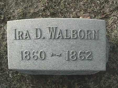 WALBORN, IRA DOUGLAS - Champaign County, Ohio   IRA DOUGLAS WALBORN - Ohio Gravestone Photos