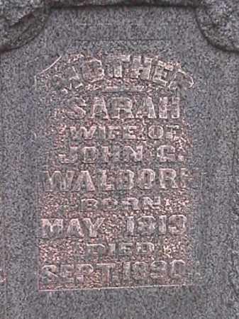WALBORN, SARAH - Champaign County, Ohio | SARAH WALBORN - Ohio Gravestone Photos