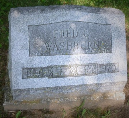 "WASHBURN, FREDERICK CHARLES ""FRED"" - Champaign County, Ohio 
