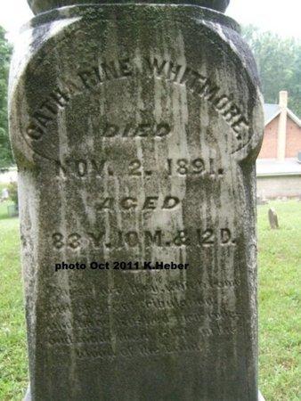 WHITMORE, CATHARINE - Champaign County, Ohio   CATHARINE WHITMORE - Ohio Gravestone Photos