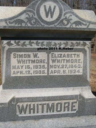 WHITMORE, SIMON W - Champaign County, Ohio | SIMON W WHITMORE - Ohio Gravestone Photos