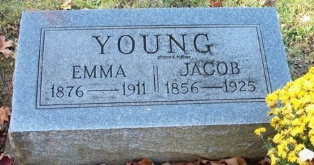 YOUNG, JACOB - Champaign County, Ohio | JACOB YOUNG - Ohio Gravestone Photos