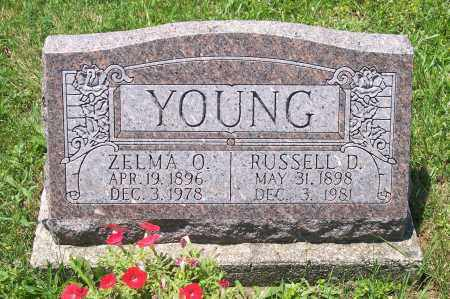 YOUNG, RUSSELL - Champaign County, Ohio | RUSSELL YOUNG - Ohio Gravestone Photos