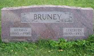 BRUNEY, HERMAN JAMES - Clark County, Ohio | HERMAN JAMES BRUNEY - Ohio Gravestone Photos