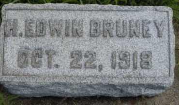BRUNEY, H. EDWIN - Clark County, Ohio   H. EDWIN BRUNEY - Ohio Gravestone Photos