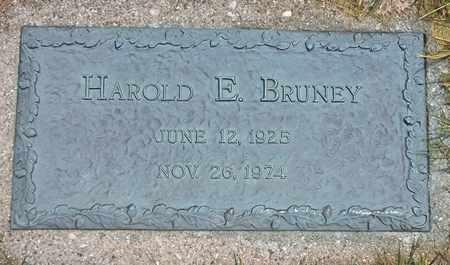 BRUNEY, HAROLD - Clark County, Ohio   HAROLD BRUNEY - Ohio Gravestone Photos