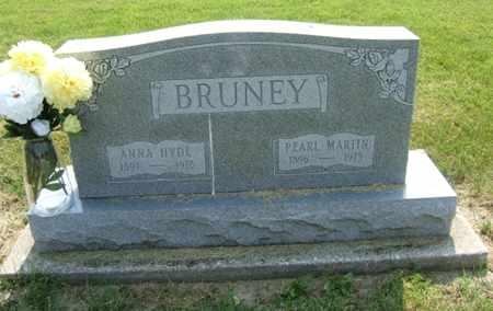 BRUNEY, PEARL MARTIN - Clark County, Ohio | PEARL MARTIN BRUNEY - Ohio Gravestone Photos