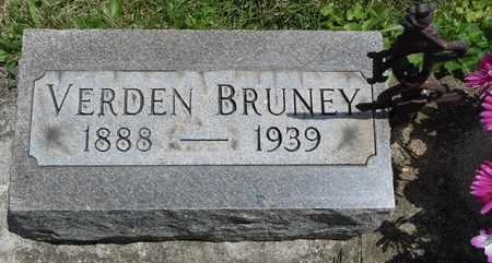 BRUNEY, VERDEN - Clark County, Ohio | VERDEN BRUNEY - Ohio Gravestone Photos