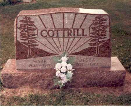 COTTRILL, DESSA - Clark County, Ohio | DESSA COTTRILL - Ohio Gravestone Photos