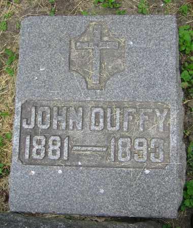 DUFFY, JOHN - Clark County, Ohio | JOHN DUFFY - Ohio Gravestone Photos