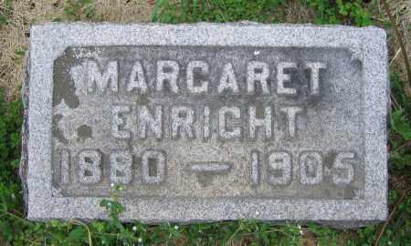 ENRIGHT, MARGARET - Clark County, Ohio | MARGARET ENRIGHT - Ohio Gravestone Photos
