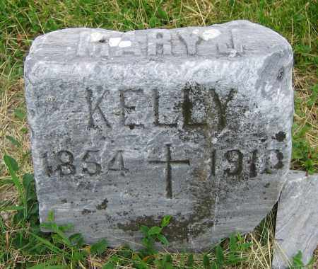 KELLY, MARY J. - Clark County, Ohio | MARY J. KELLY - Ohio Gravestone Photos
