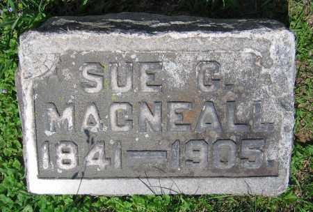 MACNEALL, SUE C. - Clark County, Ohio | SUE C. MACNEALL - Ohio Gravestone Photos