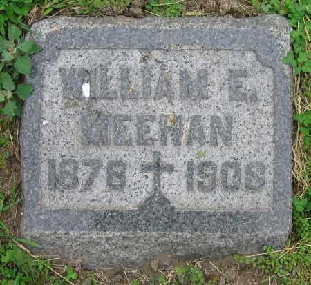 MEEHAN, WILLIAM E. - Clark County, Ohio   WILLIAM E. MEEHAN - Ohio Gravestone Photos
