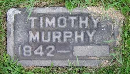 MURPHY, TIMOTHY - Clark County, Ohio | TIMOTHY MURPHY - Ohio Gravestone Photos