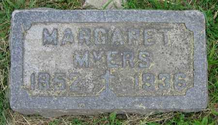 MYERS, MARGARET - Clark County, Ohio | MARGARET MYERS - Ohio Gravestone Photos