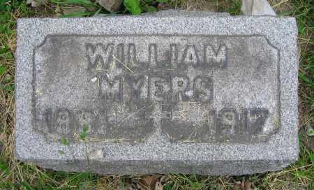 MYERS, WILLIAM - Clark County, Ohio | WILLIAM MYERS - Ohio Gravestone Photos