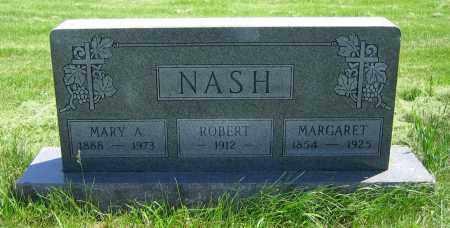 NASH, MARY A. - Clark County, Ohio | MARY A. NASH - Ohio Gravestone Photos
