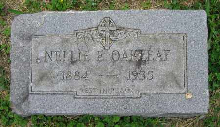 OAKLEAF, NELLIE E. - Clark County, Ohio | NELLIE E. OAKLEAF - Ohio Gravestone Photos