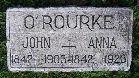 O'ROURKE, ANNA - Clark County, Ohio | ANNA O'ROURKE - Ohio Gravestone Photos