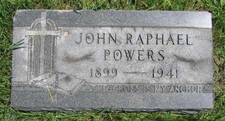 POWERS, JOHN RAPHAEL - Clark County, Ohio   JOHN RAPHAEL POWERS - Ohio Gravestone Photos