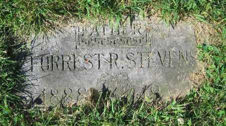 STEVENS, FORREST R. - Clark County, Ohio   FORREST R. STEVENS - Ohio Gravestone Photos
