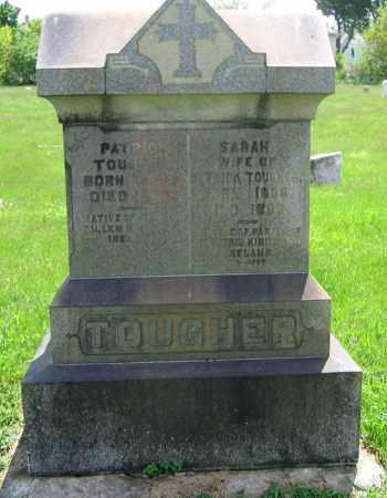 TOUGHER, PATRICK - Clark County, Ohio | PATRICK TOUGHER - Ohio Gravestone Photos