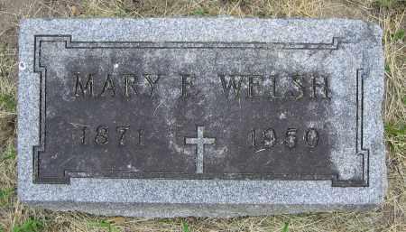 WELSH, MARY E. - Clark County, Ohio | MARY E. WELSH - Ohio Gravestone Photos
