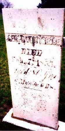 WHITTREDGE, JOSEPH - Clark County, Ohio | JOSEPH WHITTREDGE - Ohio Gravestone Photos
