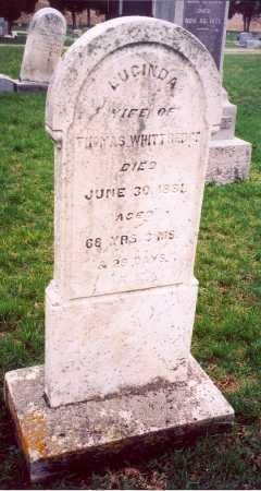 WINCHESTER WHITTREDGE, LUCINDA - Clark County, Ohio | LUCINDA WINCHESTER WHITTREDGE - Ohio Gravestone Photos