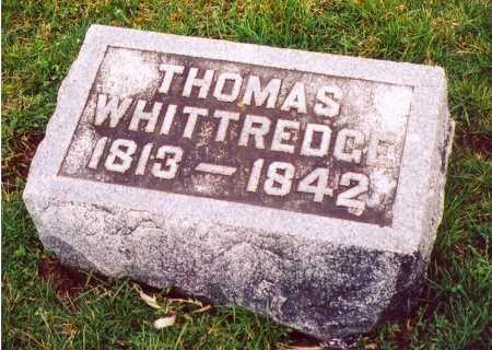 WHITTREDGE, THOMAS - Clark County, Ohio | THOMAS WHITTREDGE - Ohio Gravestone Photos