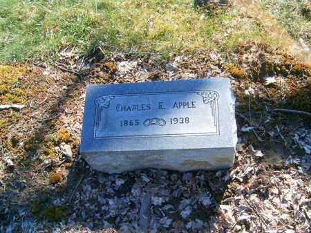 APPLE, CHARLES   E - Clermont County, Ohio | CHARLES   E APPLE - Ohio Gravestone Photos