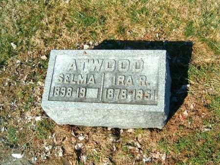 ATWOOD, IRA  R - Clermont County, Ohio   IRA  R ATWOOD - Ohio Gravestone Photos