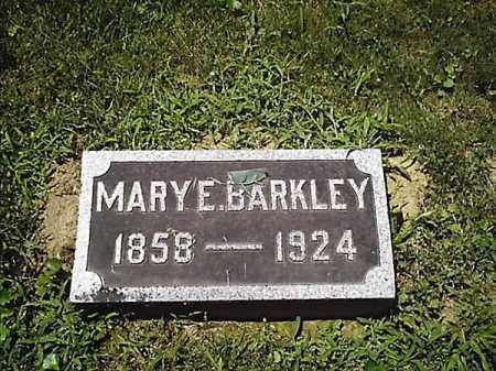 BARKLEY, MARY  E - Clermont County, Ohio | MARY  E BARKLEY - Ohio Gravestone Photos