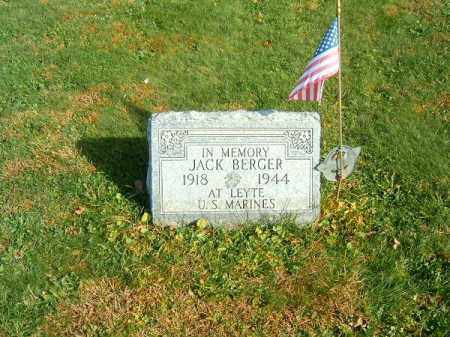 BERGER, JACK - Clermont County, Ohio | JACK BERGER - Ohio Gravestone Photos