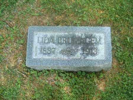 BRUMAGEM, LIDA - Clermont County, Ohio   LIDA BRUMAGEM - Ohio Gravestone Photos