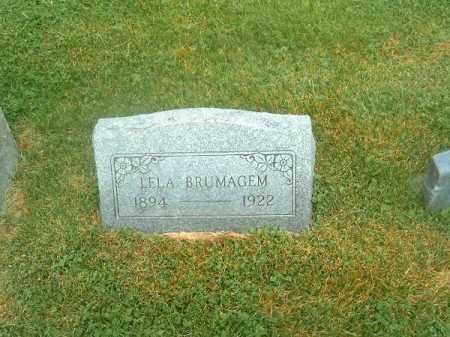 BRUMAGEN, LELA - Clermont County, Ohio   LELA BRUMAGEN - Ohio Gravestone Photos