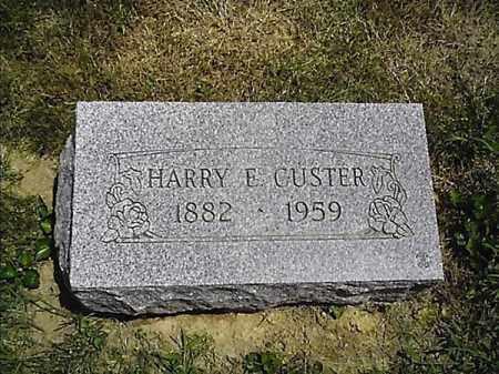 CUSTER, HARRY  L - Clermont County, Ohio   HARRY  L CUSTER - Ohio Gravestone Photos