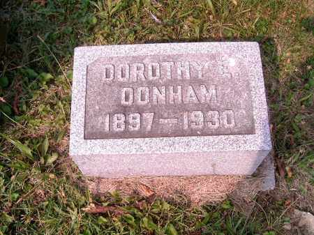 DONHAM, DOROTHY  E - Clermont County, Ohio   DOROTHY  E DONHAM - Ohio Gravestone Photos