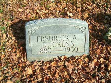 DUCKENS, FREDRICK  A - Clermont County, Ohio | FREDRICK  A DUCKENS - Ohio Gravestone Photos