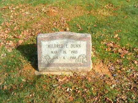 DUNN, MILDRED  E - Clermont County, Ohio | MILDRED  E DUNN - Ohio Gravestone Photos