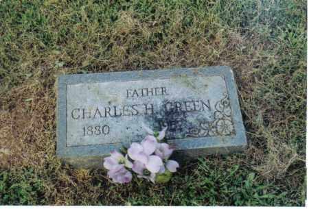 GREEN, CHARLES H. - Clermont County, Ohio | CHARLES H. GREEN - Ohio Gravestone Photos