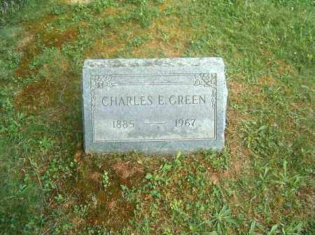 GREEN, CHARLES  E - Clermont County, Ohio | CHARLES  E GREEN - Ohio Gravestone Photos