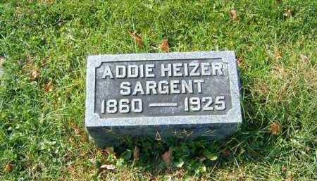 SARGENT, ADDIE - Clermont County, Ohio | ADDIE SARGENT - Ohio Gravestone Photos
