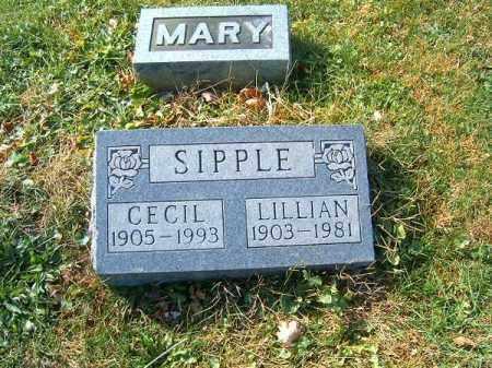 SIPPLE, LILLIAN - Clermont County, Ohio   LILLIAN SIPPLE - Ohio Gravestone Photos