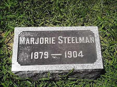 STEELMAN, MARJORIE - Clermont County, Ohio   MARJORIE STEELMAN - Ohio Gravestone Photos