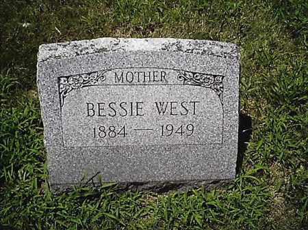 WEST, BESSIE - Clermont County, Ohio   BESSIE WEST - Ohio Gravestone Photos
