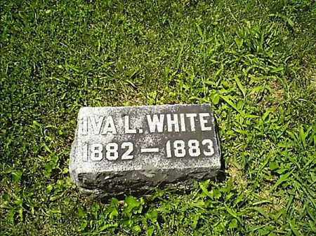 WHITE, IVA  L - Clermont County, Ohio | IVA  L WHITE - Ohio Gravestone Photos